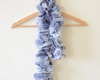Blue scarf for girl