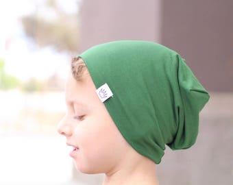 Green slouch beanie / Slouchy baby beanie boy / Hipster toddler beanie / Toddler slouchy beanie / Hipster slouchy beanie / Toddler hat