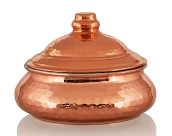 sweet hammered copper, nice little gift box