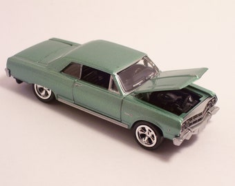 1965 Chevrolet Chevy Malibu SS - Vintage Die Cast Car, 1/64th scale by Johnny Lightning