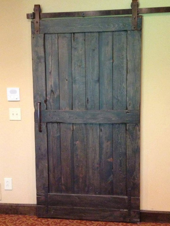 barn style doors vintage sliding barn door custom made to fit your style 13278