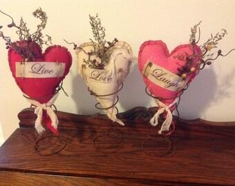 Valentine Heart Spring Makedo