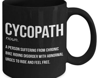 Cycopath Bicycle Cyclist Coffee Mug