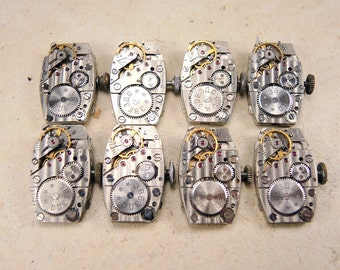 Watch movement Zvezda - set of 8 - c117