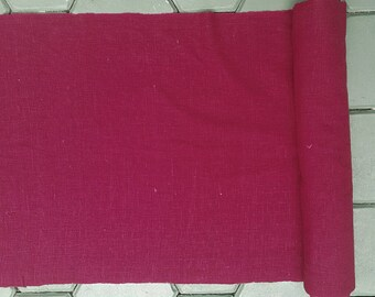 hand woven cotton fabric by the meter (H