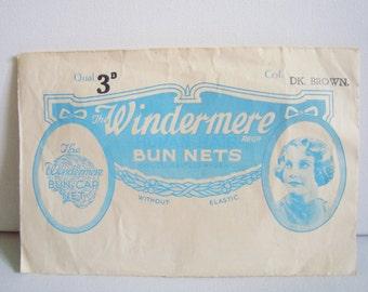 Windermere human hair bun net