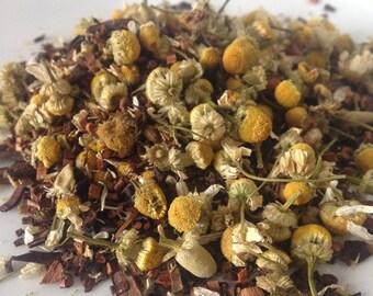 Vanilla Chamomile Loose Leaf Tea, Honeybush Tea, Caffeine Free Tea, Red Tea
