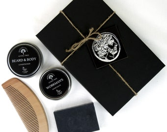 Beard Kit, Groomsmen Kit, Groomsmen Proposal, Beard Oil, Beard Comb, Homemade Soap, Organic Soap, Self Care, Care Package, Beard Gift,Butter