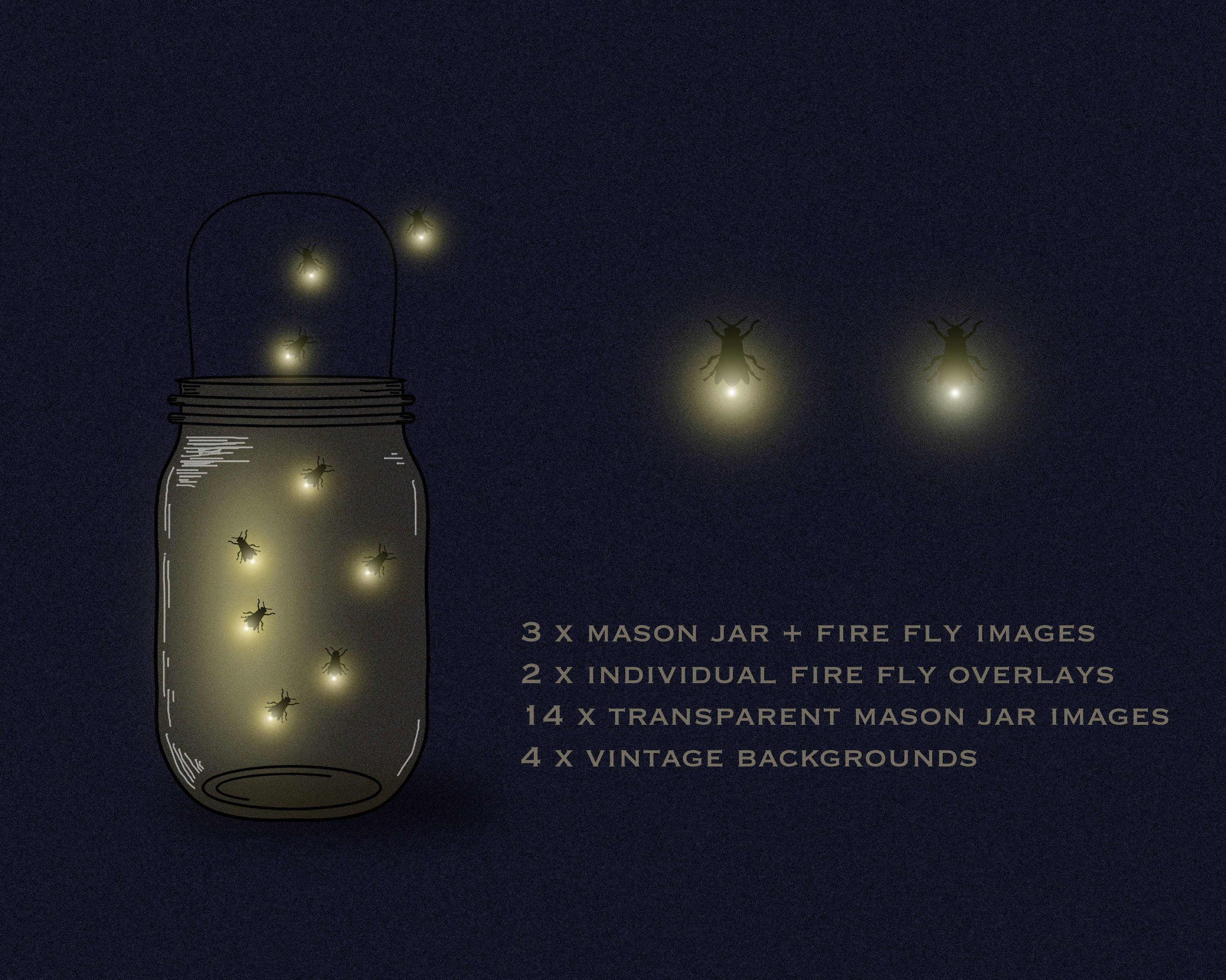 Mason jar clipart, firefly clipart, firefly lights, fireflies ... for Firefly Insect In Jar  177nar