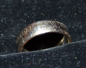 CUSTOM Regular Quarter Coin Ring