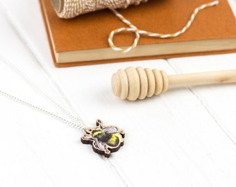 Ernie the Bee Necklace | Bumblebee Necklace