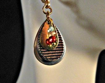 Multi Gemstone drop earrings,gemstone dangle earrings,gemstone earrings,birthstone earrings,drop earrings,dangle earrings,gold earrings