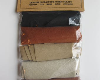 Ultrasuede Full Bodied Fall Scrap Package