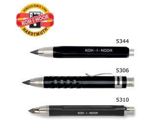 Short Mechanical Pencil Lead holder 5.6mm Metal Plastic 5306 5344 5310 Koh-I-Noor Hartmuth 5,6 mm Art Drawing Artist