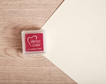 Pink - Rubber Stamp Mini Ink Pad