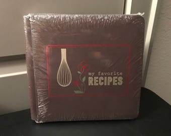 Creative Memories 8x8 Nancy O'Dell Recipe Fast to Fabulous Album Kit