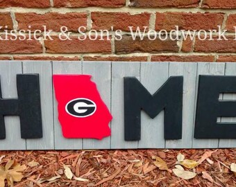 Georgia Home Sign
