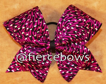 Optical Illusion Cheer Bow