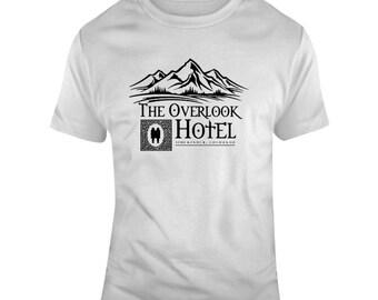 The Shining Overlook Hotel Horror Movie Fan  T Shirt