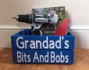 Grandad's Bits & Bobs For Father's Day Gift