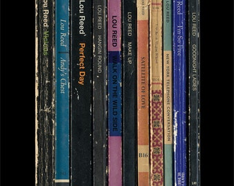 Lou Reed 'Transformer' Poster Print Album As Books Penguin Books