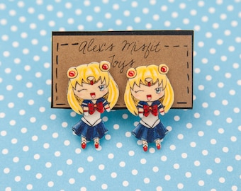 Sailor Moon Inspired Sailor Scout Clinging Faux Gauge