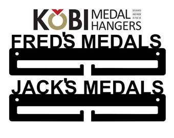 Personalised Name Medal Hanger / Medal Holder