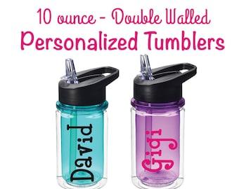 Kids Party Favors - Personalized Kids Water Bottle - Party Favor - Kids Cups - Ring Security - Flower Girl - Wedding -  Preschool Bottle