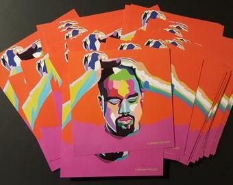 Mood Kanye sticker - Vakseen - Kanye West - Kanye Sticker - Hip Hop Art - Skateboard Stickers - Music Art Stickers - Kanye - Celebrity