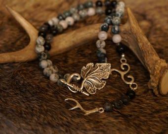 Antler Crowned: Prayer Beads for Cernunnos