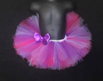 Purple and Fushcia Tutu Skirt/ TuTu Dress for Birthdays/ Photo Shoots/ Weddings