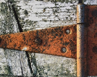 The Farm Collection: Old Hinge by SusanARay of OneHealingStone Studio