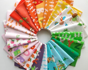 Kinder by Heather Ross for Windham Fabrics - Fat Quarter Bundle