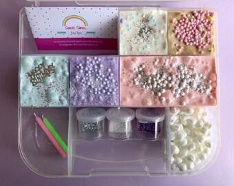 Happy Birthday Celebration Slime Palette To Go Kit Pastel