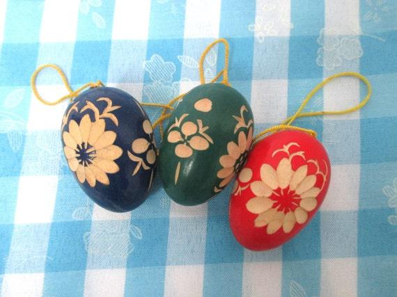 Wooden Erzgebirge Miniatures Wood Easter Ornaments