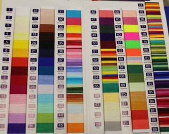Omega Nylon #2  Crochet Nylon Thread Various Colors to choose from