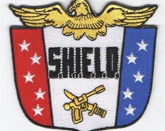 SALE S.H.I.E.L.D. crest patch 1960s Marvel Agents of SHIELD