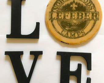 Love LeFeber (black lettering)