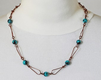 Found Your Marbles - Handcrafted Wire Necklace