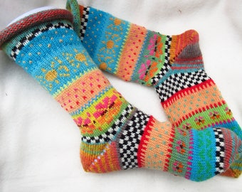 Colorful socks Maja size 37 / 38