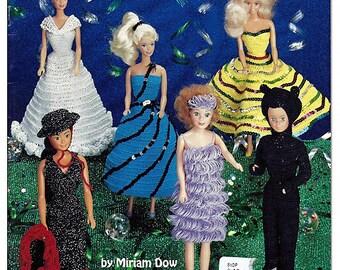 Fashion Doll Costume Party   Crochet Pattern Book American School of Needlework 1110