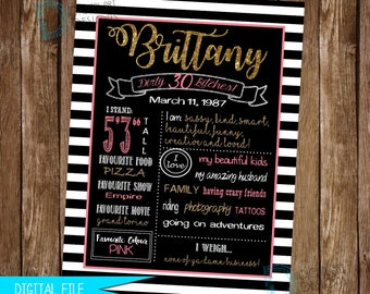 Kate Spade Birthday Sign, Kate Spade Party, Kate Spade Theme, 25th Birthday, Dirty Thirty Birthday, Fabulous Forty Birthday, Adult Birthday