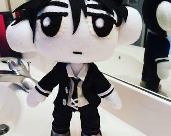 Sword art online Kirito doll plushies