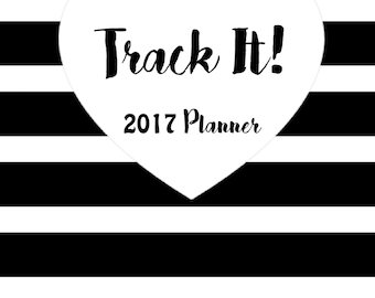 Track It! 2017 Planner Printable Inserts A5