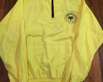 Vintage Underwets beach  volleyball 1/4 zip windbreaker one size fits  all