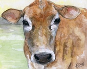 Cow Painting - Print from...