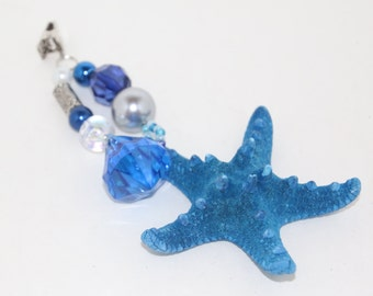 Knobby Blue StarfishTablecloth Weights Set of 4