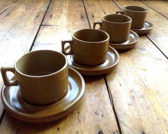 Mid-Century Vintage French Espresso Cups