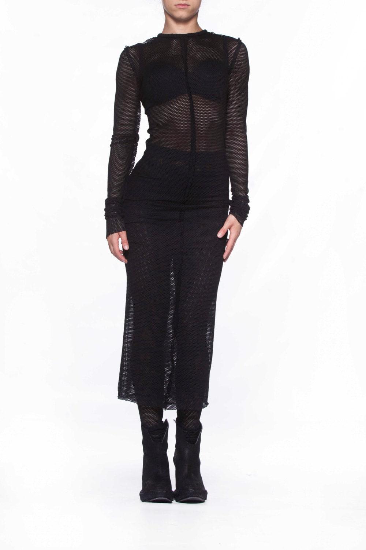 Mesh Kleid schiere Kleid Fetisch tragen Plus Size Kleid