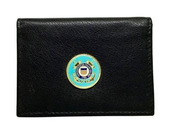 Coast Guard Business Card Case – 1″ Color